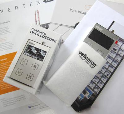 携帯オシロスコープの新製品